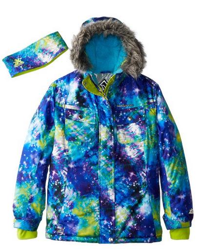 Amazon Zeroxposur Big Girls Ella Snowboard Jacket Only