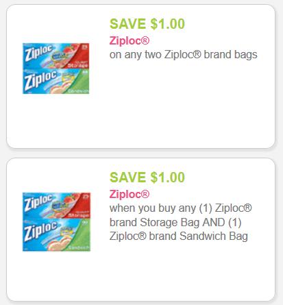 Ziploc Savings - 2