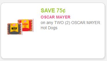 Oscar Mayer hot dogs 9.15