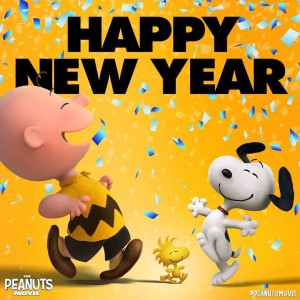 Charlie Brown New Year