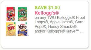 Kellogg's 1 off 2
