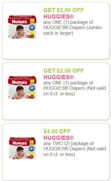 Huggies savings